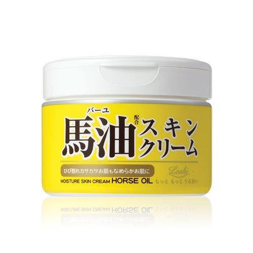 loshi天然滋润马油幼滑乳霜220g